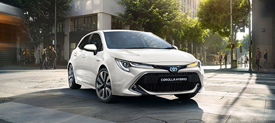 All-new 2019 Toyota Corolla Hatchback Hybrid from €26,370 or from €210 per month**