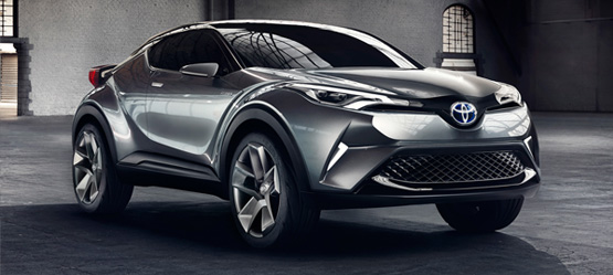 C-HR Concept: a vision of the future
