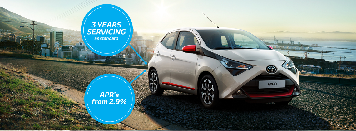 191 AYGO from €14,355 or from €33 per week**