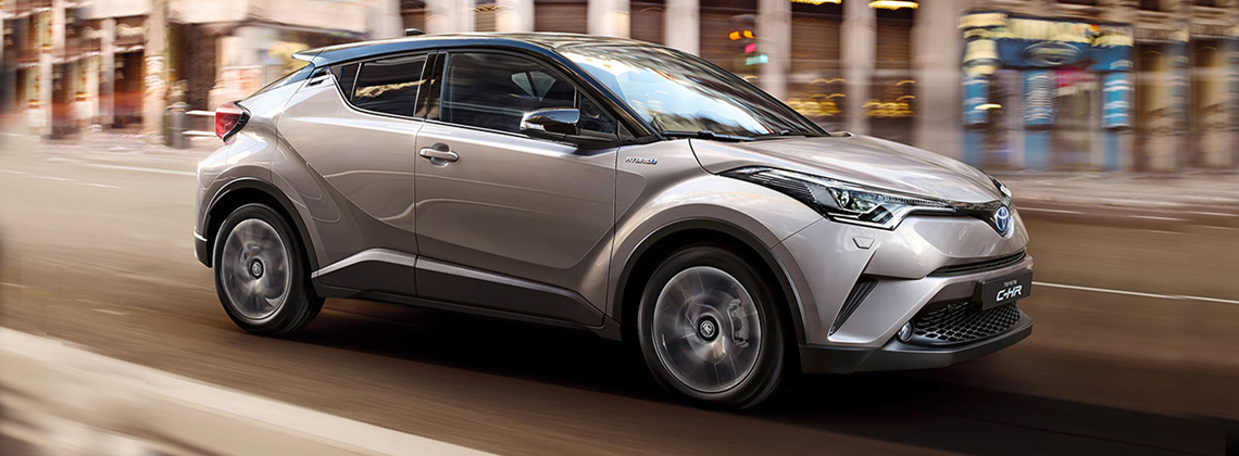 New Toyota C-HR with Toyota Safety Sense as Standard