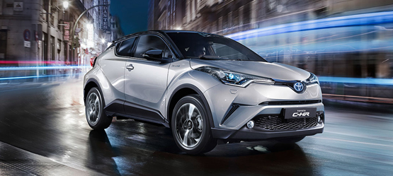 Toyota C-HR – First Reveal of New Sophisticated Interior