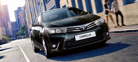 Free Accessory Pack worth up to €255 on a new Corolla