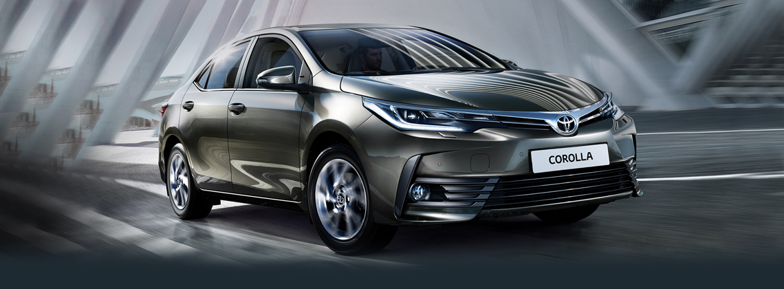 New 171 Corolla now with Toyota Safety Sense
