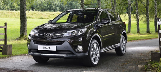 Free Accessory Pack worth up to €385 on a new RAV4
