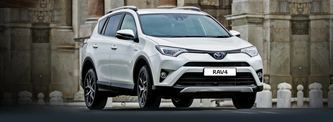 New RAV4 now with Toyota Safety Sense