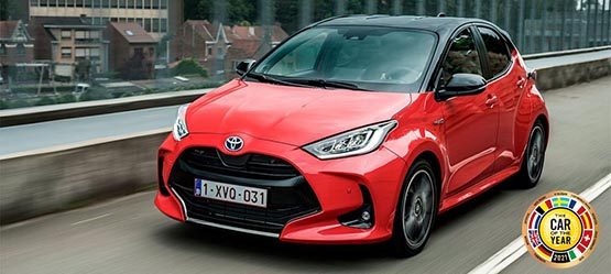 The All-New Yaris Hybrid
