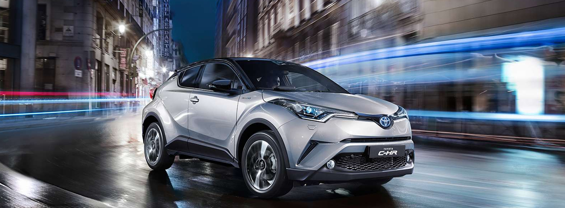 Toyota C-HR – First Reveal of New Crossover's Sophisticated Interior
