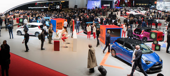 Toyota at the 2018 Geneva Motor Show