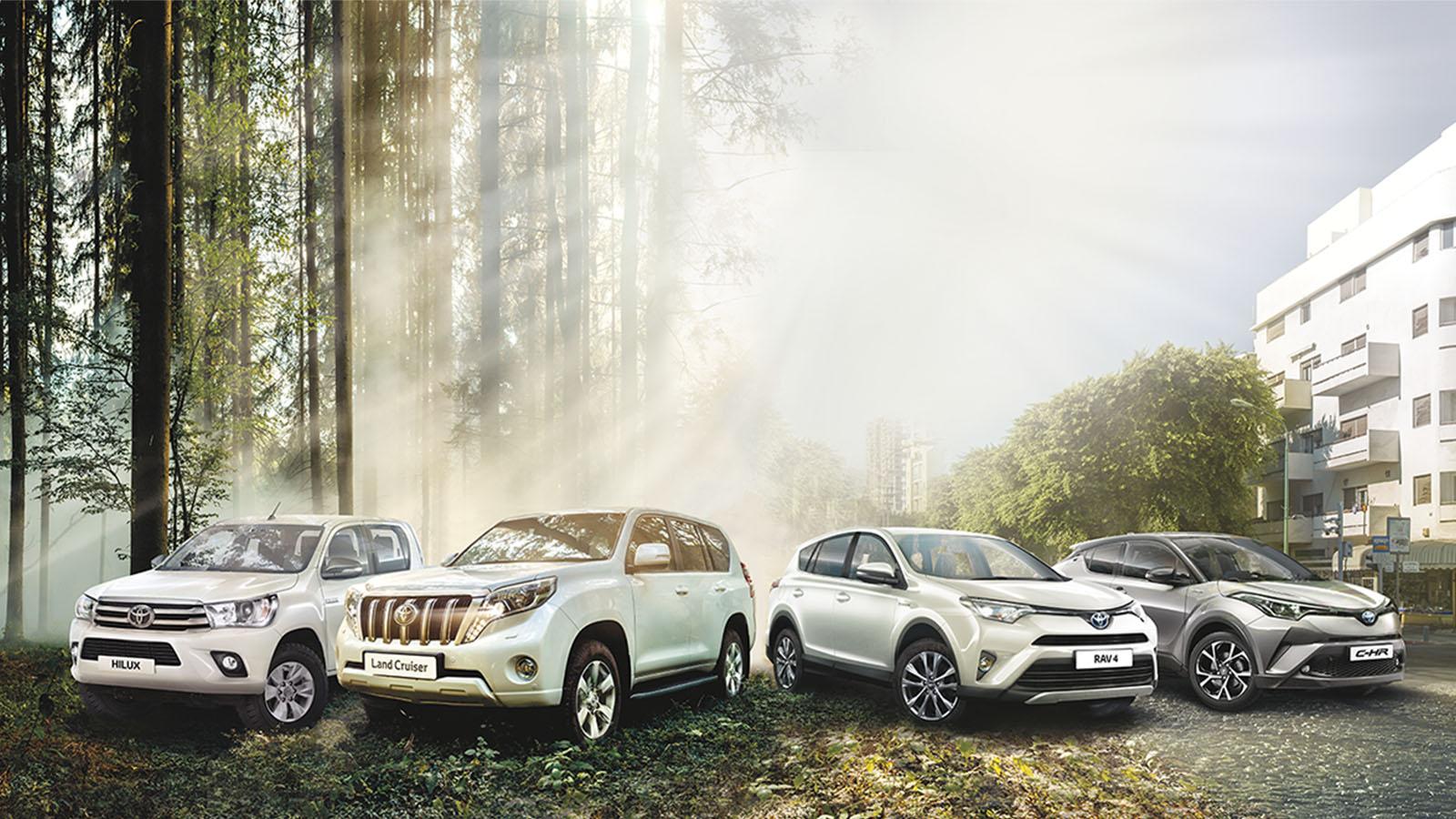 מדהים בולטים בשטח: רכבי SUV וקרוסאובר תופסים נוכחות – Toyota CY-39