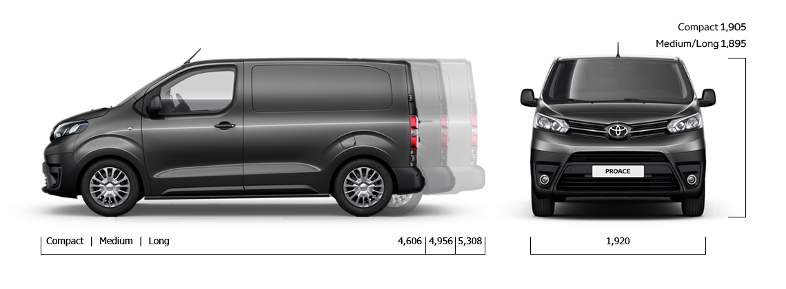 d couvrez le nouvel utilitaire et monospace toyota proace. Black Bedroom Furniture Sets. Home Design Ideas