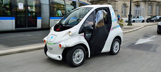 Elektrische Auto Stadsmobiliteit Voor De Toekomst Toyota
