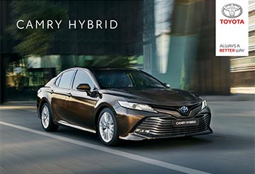 Camry - Prijzen en specificaties