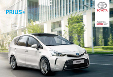 Prius+ - Prijzen en specificaties