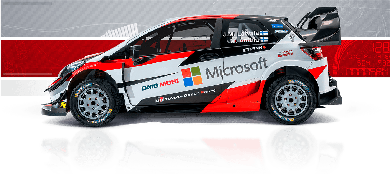 toyota gazoo racing in 2018 world rally championship toyota europe. Black Bedroom Furniture Sets. Home Design Ideas