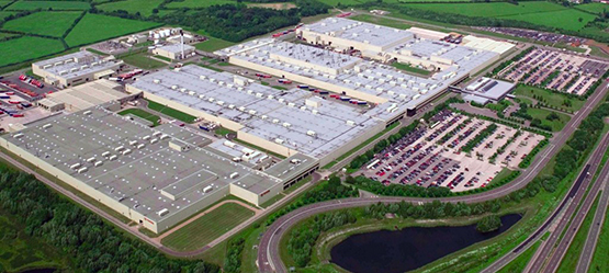 Brytyjska fabryka Toyota Motor Manufacturing United Kingdom Ltd. w Burnaston