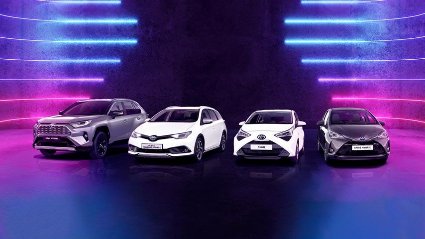 Super Najtańsze nowe samochody osobowe z salonu marki Toyota ZH35