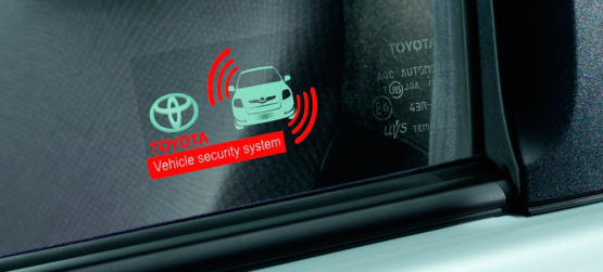 Alarme VSS Toyota (Vehicle Security System)