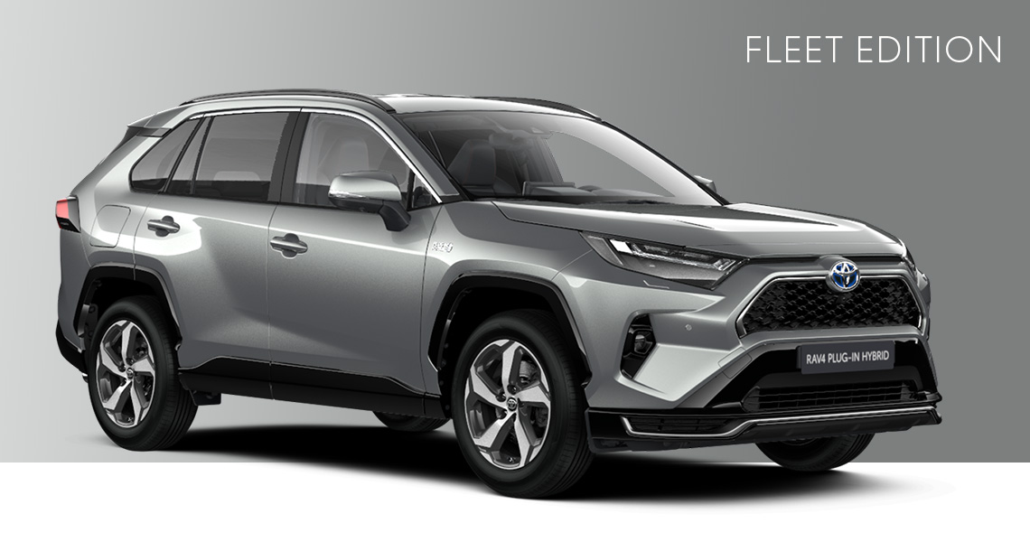 Nya RAV4 Laddhybrid Fleet Edition