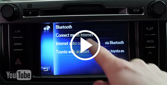 Toyota Touch 2 - Video ako na to